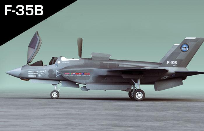F35B (FINAL RENDER)