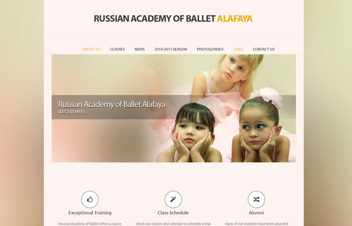 RUSSIAN ACADEMY OF BALLET (2014)