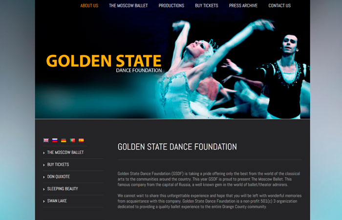 GOLDEN STATE DANCE FOUNDATION (2014)