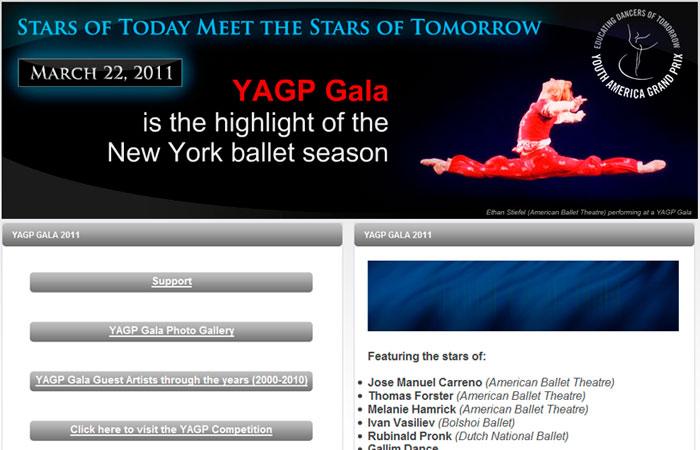 YAGP GALA (2009-2011)